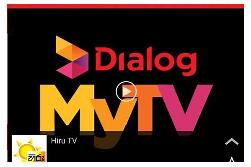 Dialog mytv pc client download