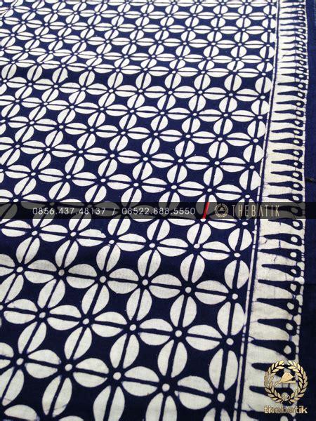 jual batik monokrom motif kopi pecah biru dongker