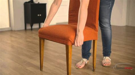 recouvrir chaise housse pour chaise á dossier