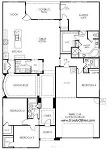 meratige rancho vistoso floor plan model