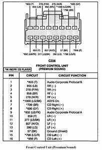 Ford Taurus Factory Stereo Wiring Diagram