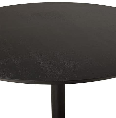 ronde zwarte eettafel ronde eettafel chef van zwart hout bureautafel