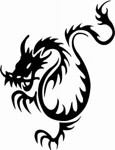 black tribal dragon tattoos | Tribal Tattoos Design