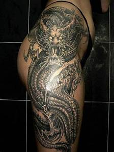 Back of Leg Female Tattoos | Back to Post :Perfect Dragon ...