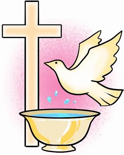 Baptism Catholic Clipart Taufe Symbols Church Symbol