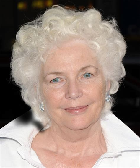fionnula flanagan casual short curly hairstyle