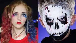 Maquillage Halloween Garcon : maquillage halloween enfant d couvrez nos tutos astuces ~ Melissatoandfro.com Idées de Décoration
