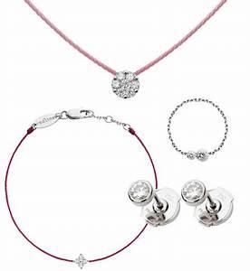 fil rose redline With bijoux diamant
