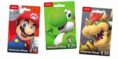 Nintendo Eshop Gift Cards Card Switch 3ds