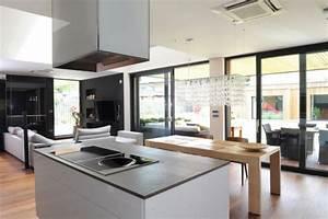 decoration cuisine maison contemporaine With deco cuisine maison