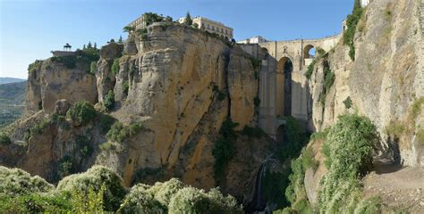 Two Centuries History Above The Spanish Gorge Puente