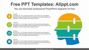 Human Head Powerpoint Diagram For Free