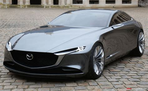 mazda vision coupe wins  beautiful concept car