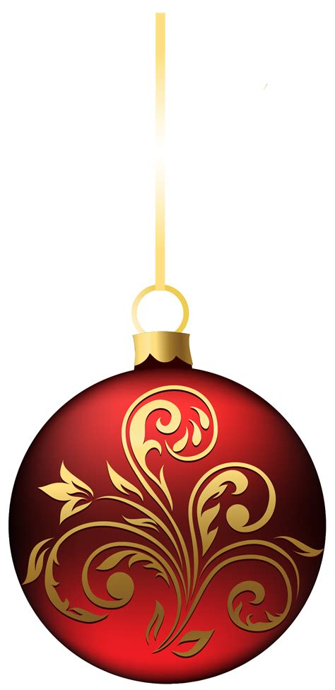 christmas ornament transparent png   icons