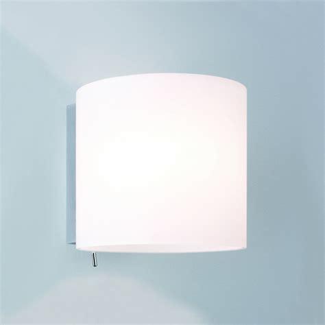 luga 0411 white glass interior lighting wall lights