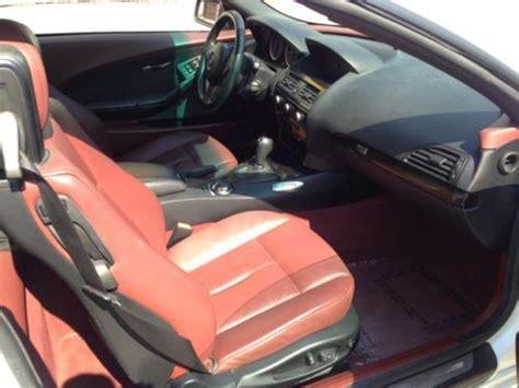 find   bmw  convertible white  red interior