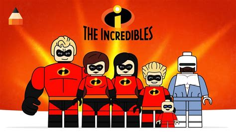 draw incredibles drawing lego incredibles