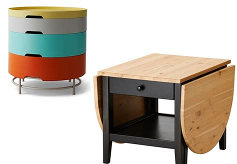 table basse ronde avec poufs integres ezooq