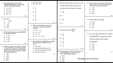 cahsee pt i 1to13 interactive worksheet number sense youtube
