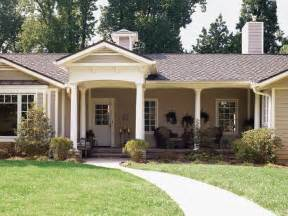 ranch home plans with front porch decorating tips top ways to improve the exterior