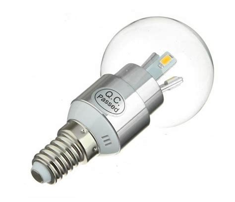 e14 led 60w 10 x dimmable e14 ses 6w led candle bulbs in warm white