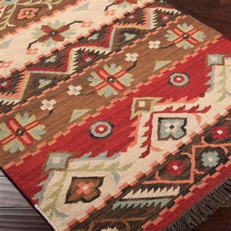 native blanket flatweave wool kilim rug western rugs