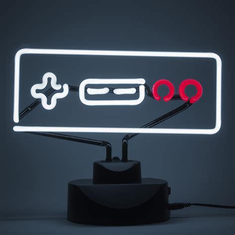 Old School Nintendo Nes Controller Neon Light Fanfit