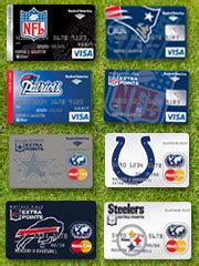 bank of america debit card designs pro football credit cards debut from nfl bank of america