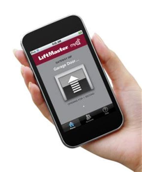 liftmaster myq garage door opener garage door opener apps