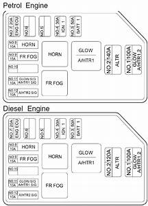 Hyundai Terracan  2005 - 2007   U2013 Fuse Box Diagram
