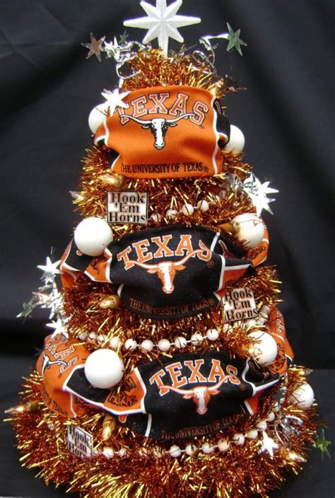 How To Christmas Decorate Your Room by University Of Texas Longhorn Christmas Tree By