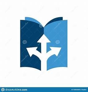 Custom Creative User Manual Guide Book Logo Design Vector
