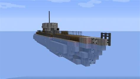 Minecraft U Boat Mod by German U Boat Type Vii Navalclash Minecraft Project