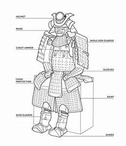 Samurai Coloring Book  Sold At The Mfa  Boston When Their