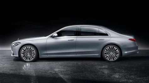 Obviously, the government's estimates will vary between the two different powertrains, and we expect the larger of the engines to. 2021 Mercedes-Benz S-Class Side Profile - 5163031