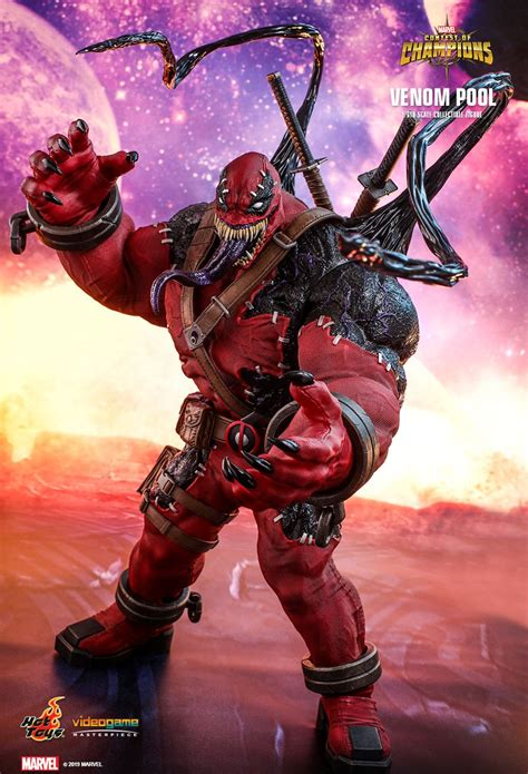 hot toys venompool marvel contest  champions