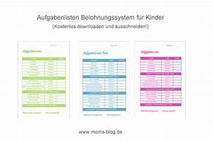 Kostenlose Downloads & Druckvorlagen Mom´s Blog, der