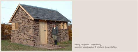 stone bothies outbuildings drystone designs