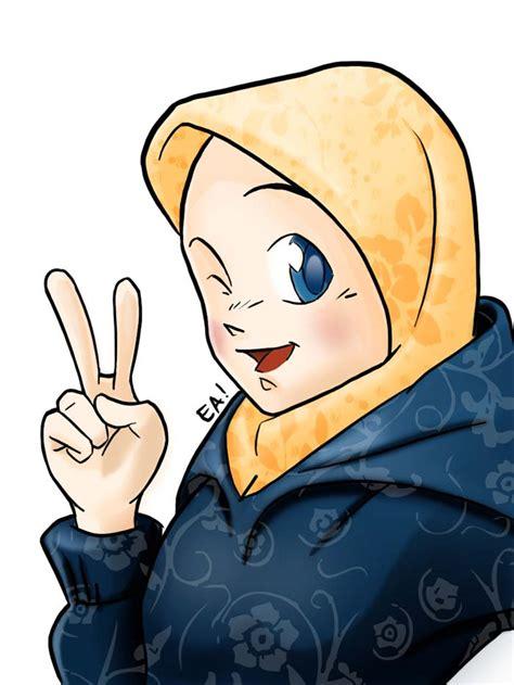 koleksi kartun muslimah jiwarosakcom