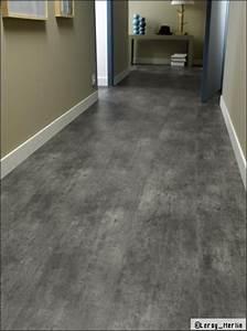 sols des solutions pour imiter le beton cire travauxcom With parquet effet beton ciré