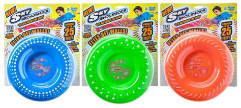 Sky Bouncer: Flying disc bounces 25 feet