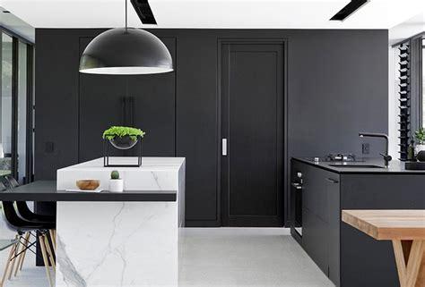 trending  pinterest monochrome kitchens bathrooms