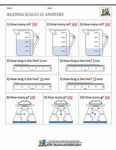 2nd Grade Measurement Worksheets