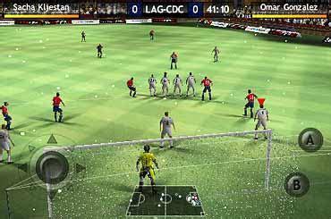 le jeu de football fifa 10 2010 pour android test mobile fr