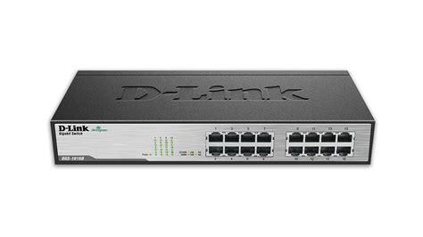d link dgs 1016d 16 port gigabit unmanaged desktop rackmount switch