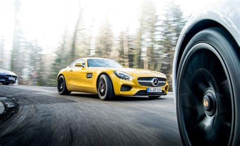 2017 Mercedes Amg Gt Range Gets More Power And Fourwheel