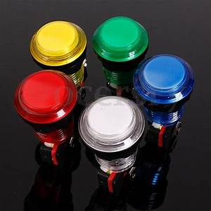 Mini Led Licht : mini arcade taster aktionstaster automat push button led licht schalter 12v 24mm ebay ~ Buech-reservation.com Haus und Dekorationen