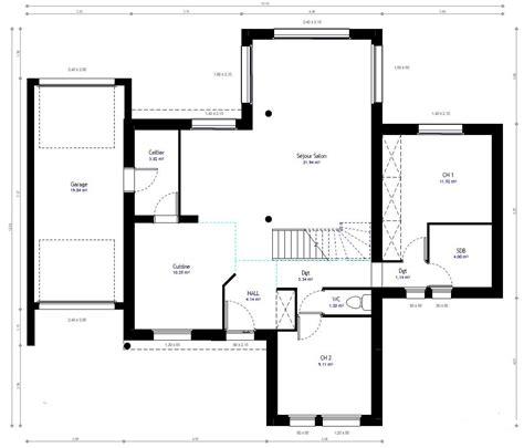 renover cuisine rustique plan maison individuelle 4 chambres 82 habitat concept