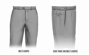 Belt Alternatives  Side Tabs  U0026 Suspender Buttons