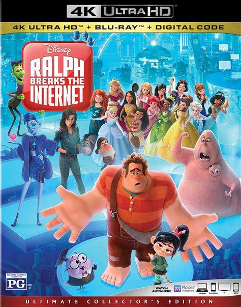 ralph breaks  internet dvd release date february